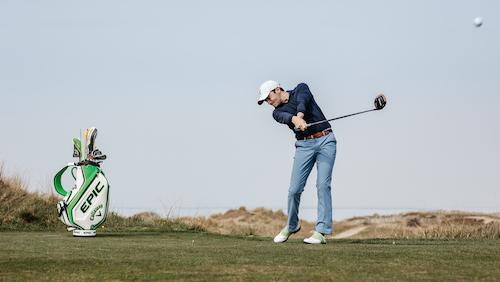 Lancement Julien Xanthopoulos Golf