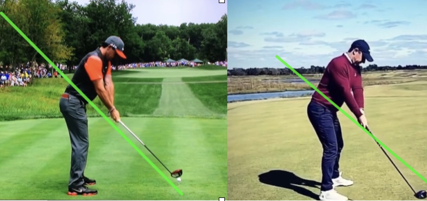 Comparaison swing Rory McIlroy